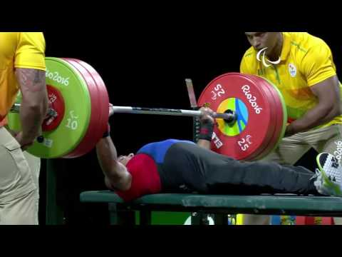Rio 2016 Powerlifting 49 Kilos Body Weight Cat. -  NPC INDIA