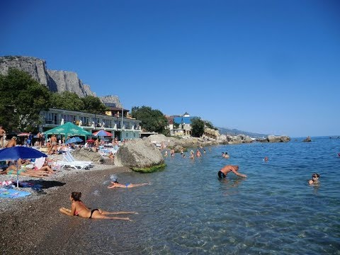 Сексотели и нудистские пляжи в крыму