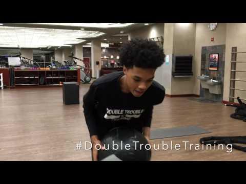 Double Trouble Training-( Brandon Boston Basketball)