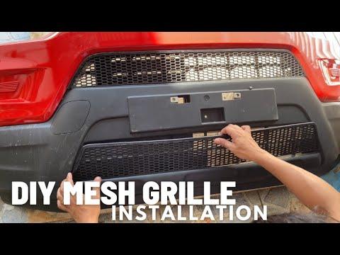 DIY MESH GRILLE INSTALLATION FOR SUZUKI S-PRESSO