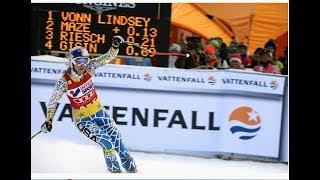Lindsey Vonn wins downhill (Åre 2011)