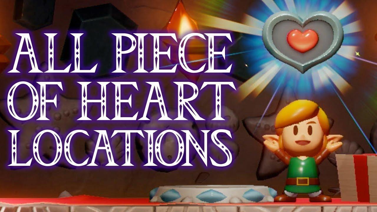All Piece Of Heart Locations Zelda Link S Awakening Nintendo Switch