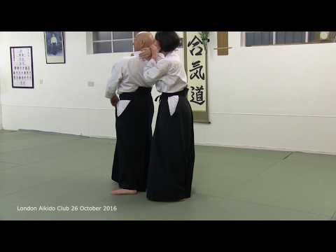 uchi kaiten nage ura good example of linked aikido