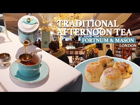 Perfect AFTERNOON TEA At Fortnum And Mason - Best Afternoon Tea London