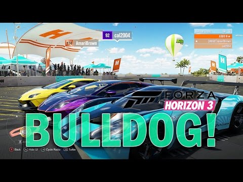 IS MY FORD GT FASTER THAN A LAMBO??   BULLDOG!! ONLINE!!  Forza Horizon 3