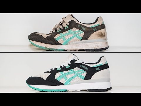 How to deep clean Asics GT Cool with Reshoevn8r