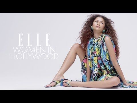 Zendaya, Mindy Kaling, Nicole Kidman and our 2019 Women In Hollywood Get Candid Abou | ELLE