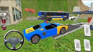 Offroad Extreme NYDP Police Car Transport Truck Game || Police Car Game || #TRuck Transport Racing
