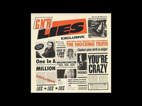 GNR Lies  I Use To Love Her