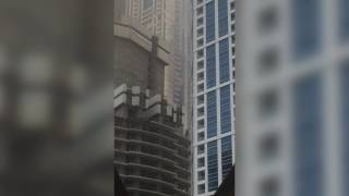 Massive Blaze at Dubai Marina Tower