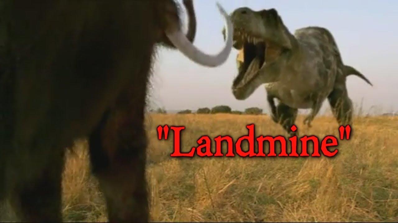 Prehistoric Park T-Rex - Landmine - YouTube