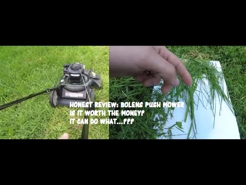 Bolens 140cc 21-in Gas Push Lawn Mower Review - CHEAP - Should You Buy It?