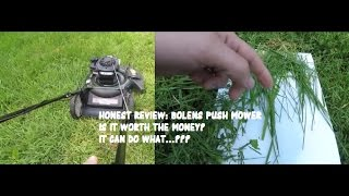 Bolens 140cc 21-in Gas Push Lawn Mower Review - CHEAP - Should You Buy It?
