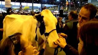 Concours de beauté et de féminité des laitières sur TV28 (extrait).