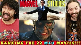 RANKING All 22 MCU Movies!!!