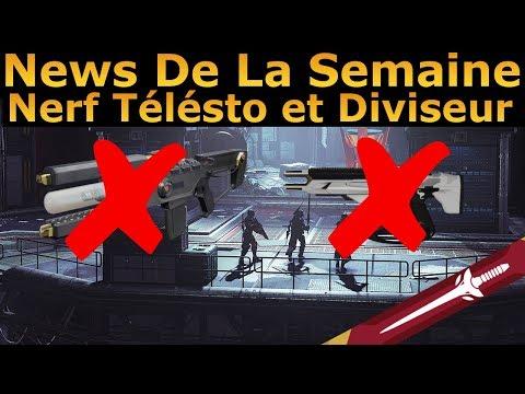 Destiny 2 : News De La Semaine ! Équilibrage des Armes, MAJ 2.1.4, Labo Niobe ... thumbnail