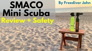 SMACO Mini Scuba || Gear Review + Safety
