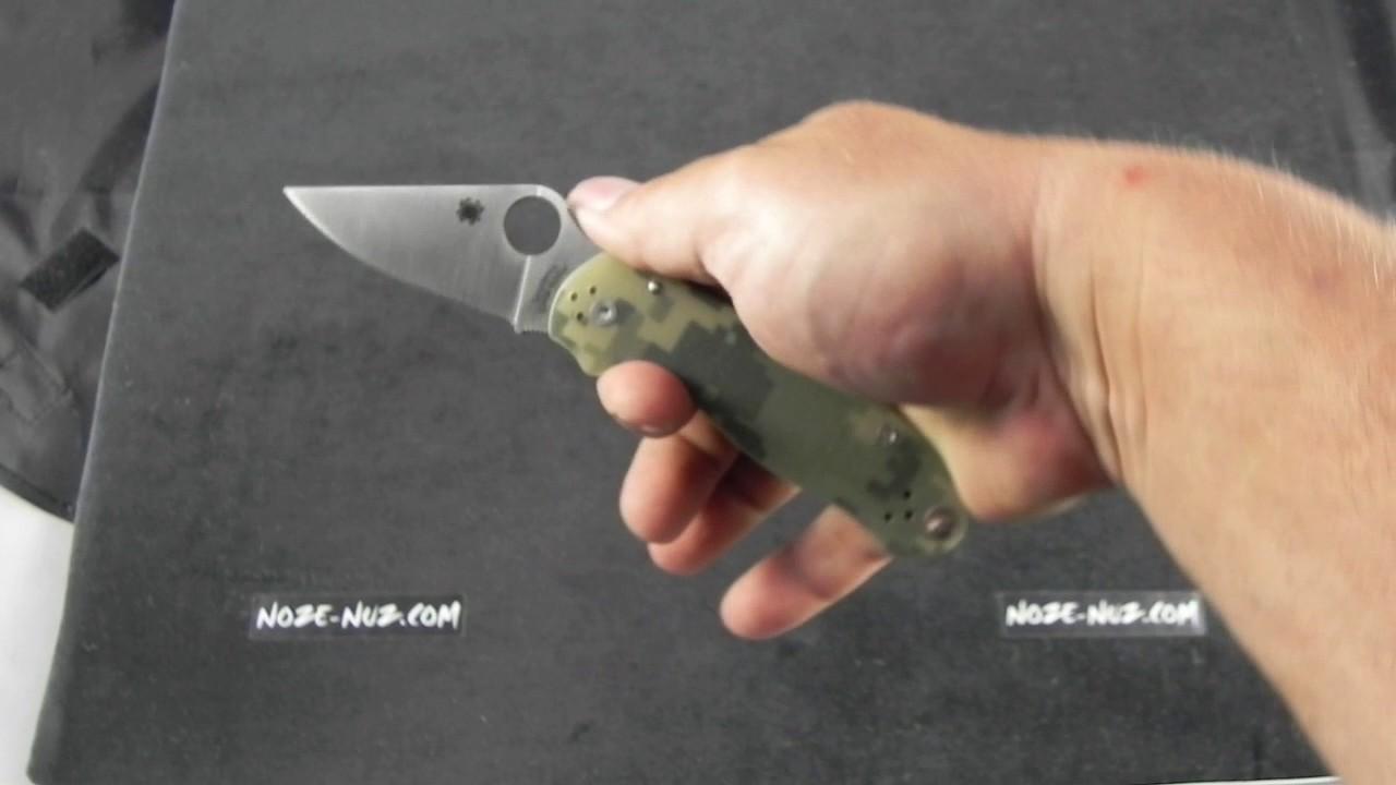 SC223GPCMO Spyderco Para 3 Satin Blade