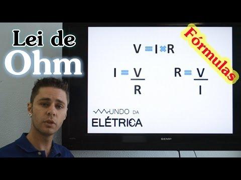 Lei de Ohm - Fórmulas de resistência, corrente e tensão explicadas