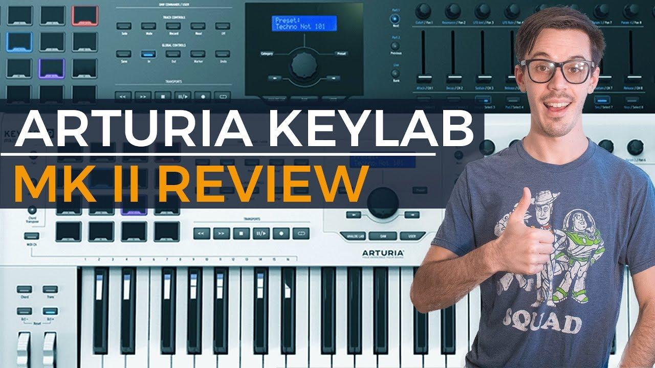 arturia keylab 61 review youtube