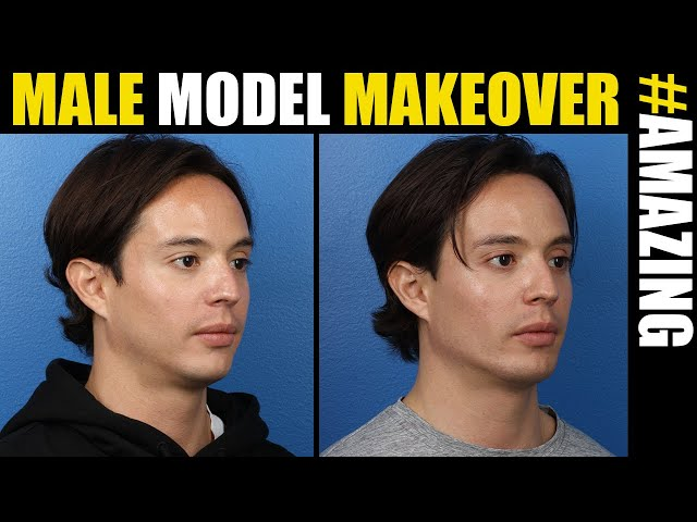 Male Model Makeover #17 in NYC, Chicago and Los Angeles