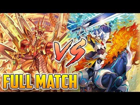Tachikaze Vs. Royal Paladin FULL MATCH!   Standard   Cardfight!! Vanguard