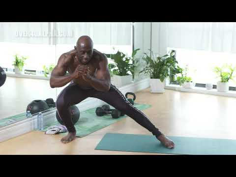 15 Minute Bodyweight Fat Burning Workout (Men Over 40)