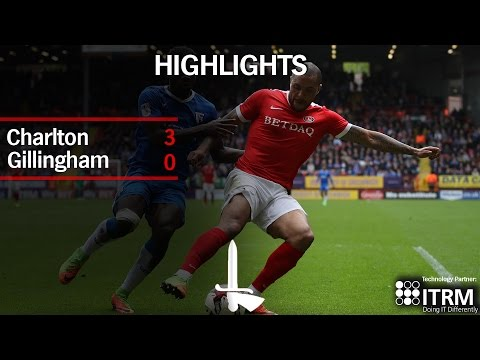 HIGHLIGHTS | Charlton 3 Gillingham 0