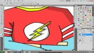 2nd Place Winner - Sheldon Cartoon Big Bang Theory Speed Art
