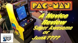 Walmart Exclusive 1up Pac-Man Machine - A Novice Review
