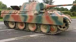 Panther Ausf. A , Saumur en Uniforme 2013