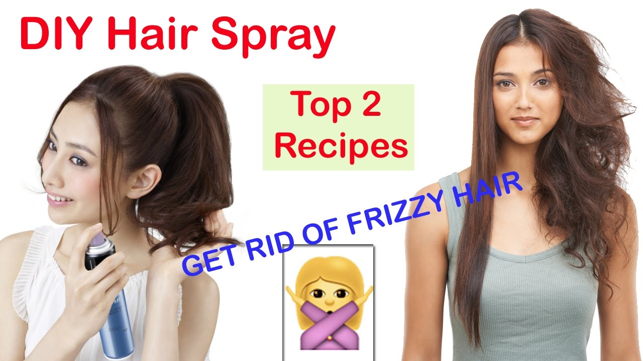How To Remove Frizzy Hair Naturally