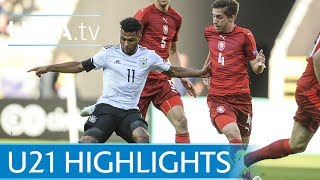 Under-21 highlights: Germany v Czech Republic