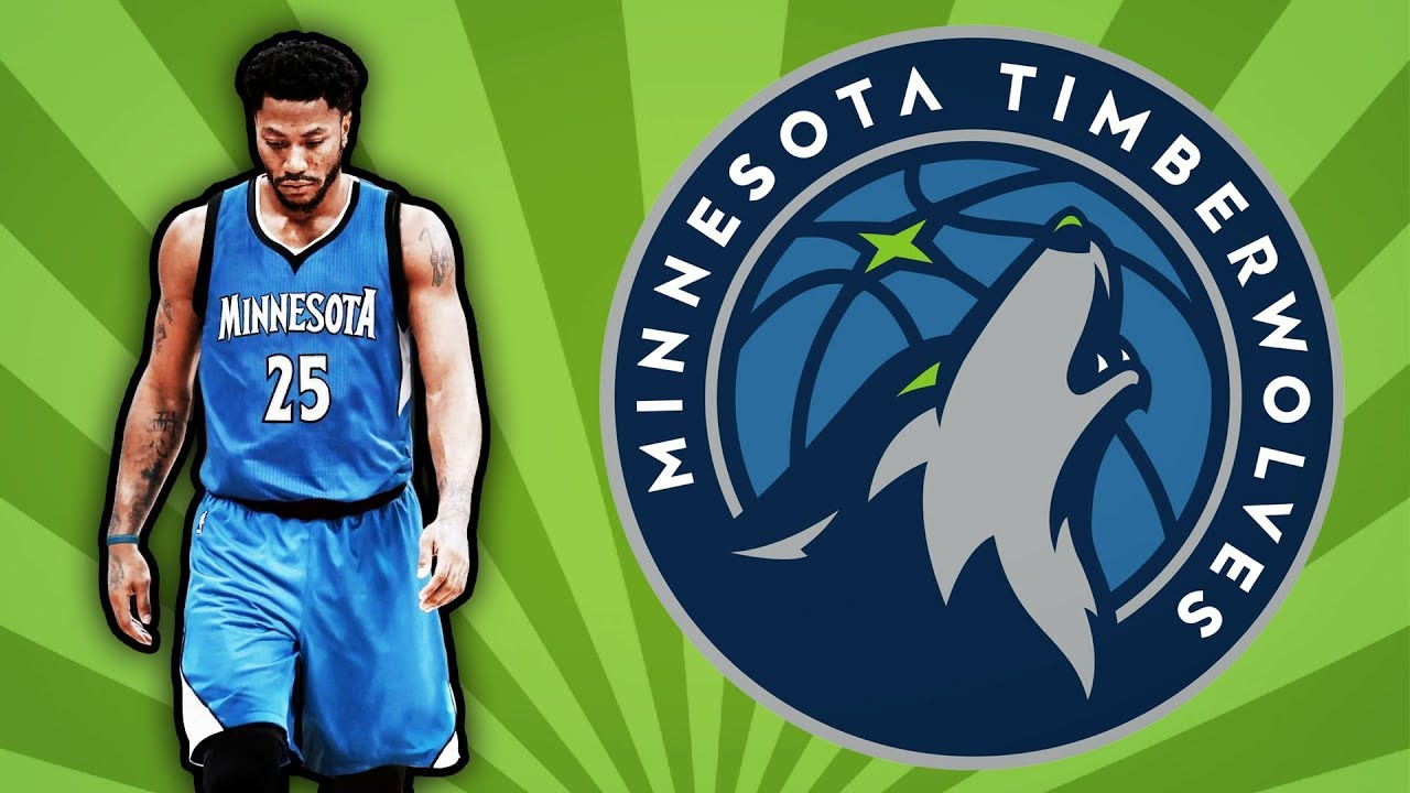 best service 04724 aa672 Derrick Rose Joins The Minnesota Timberwolves