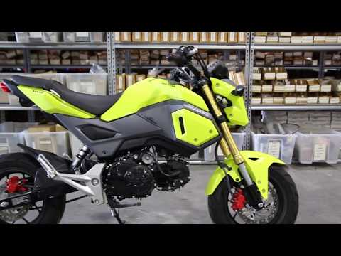 2017 Honda Grom Bright Yellow Used Parts For Sale