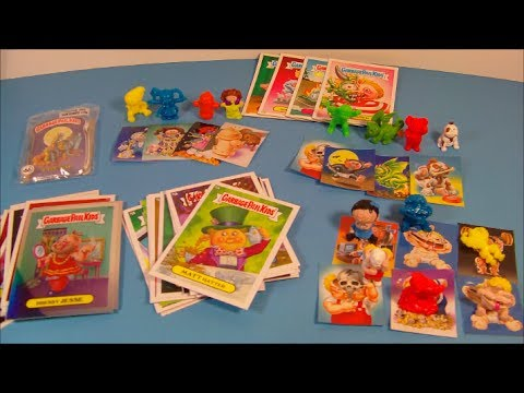 MiniKins GIVEAWAY And GARBAGE PAIL KIDS PRODUCT SAMPLE VIDEO REVIEW