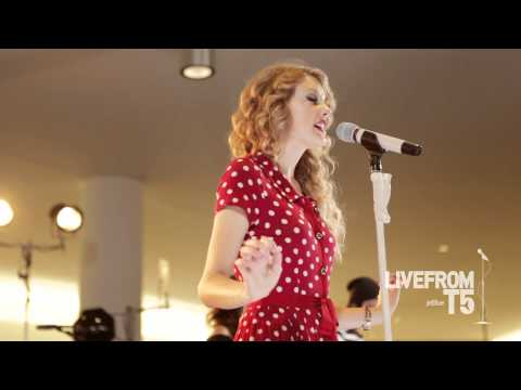 JetBlue - Taylor Swift Live from T5 - Speak Now - HD