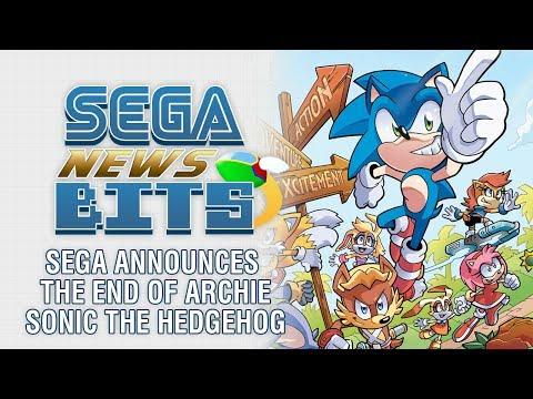 SEGA Announces the End of Archie Sonic the Hedgehog