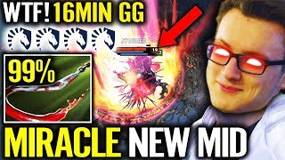 PUDGE MID IS BACK - Miracle liquid Plays Battle Cup 🏆 Dota 2
