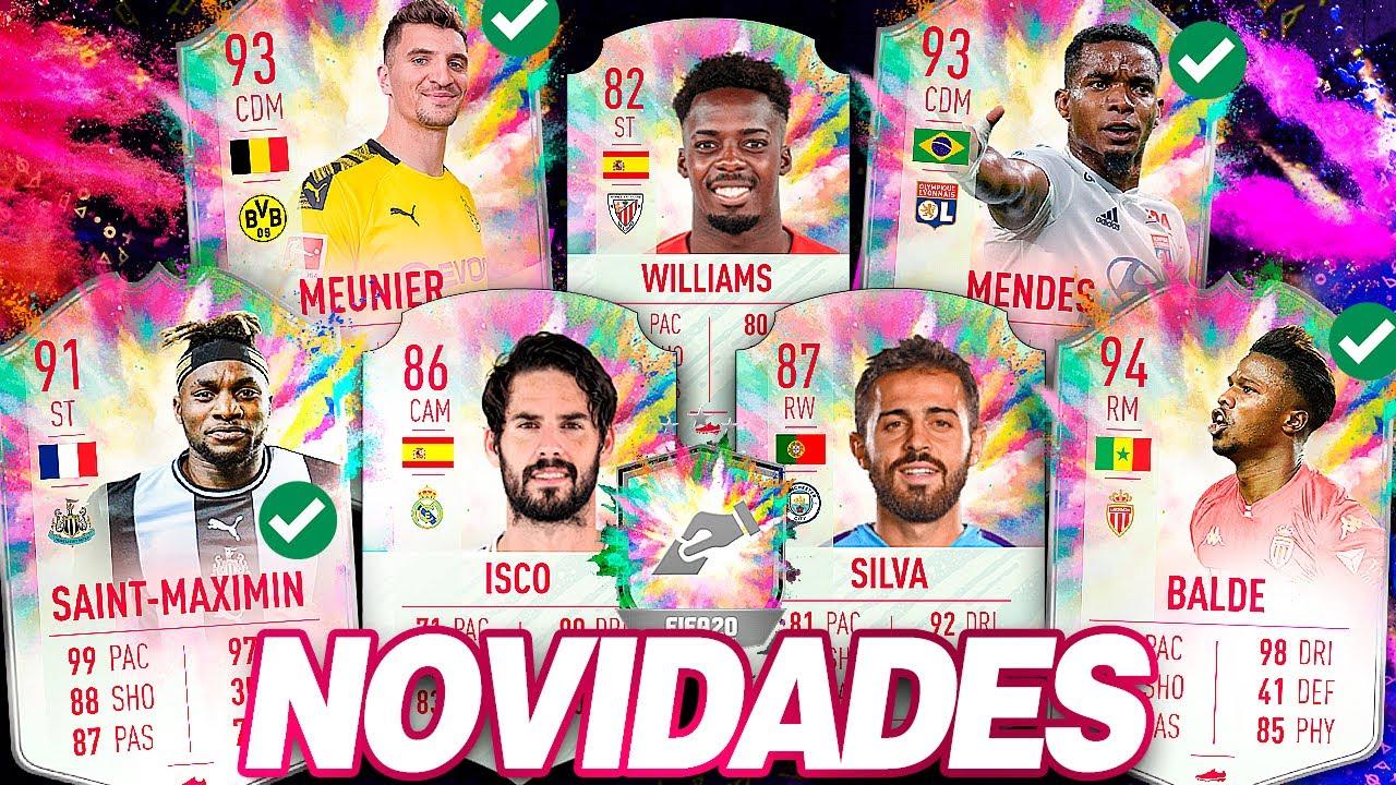 FIFA20 |😱 NOVO DME 88+ GARANTIDO / NOVOS JOGADORES PARA VOTAÇÃO || LINKER ||