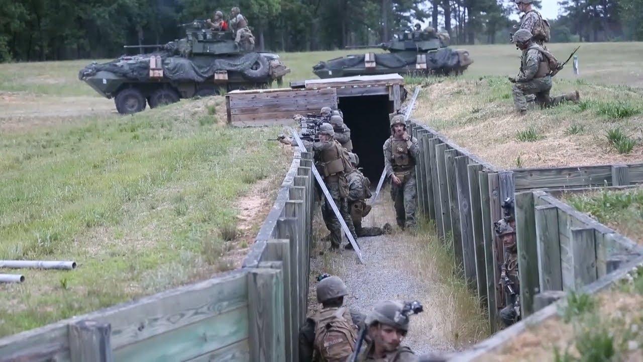 US Military News • U.S. Marines with 2d Light Armored Reconnaissance Battalion • Va USA May 22 2021