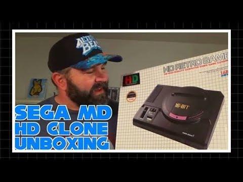 Sega Mega Drive HD clone unboxing & review