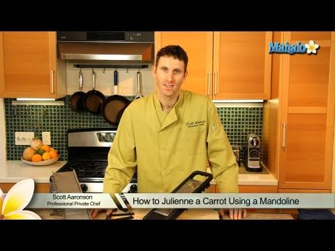 how-to-julienne-a-carrot-using-a-mandoline