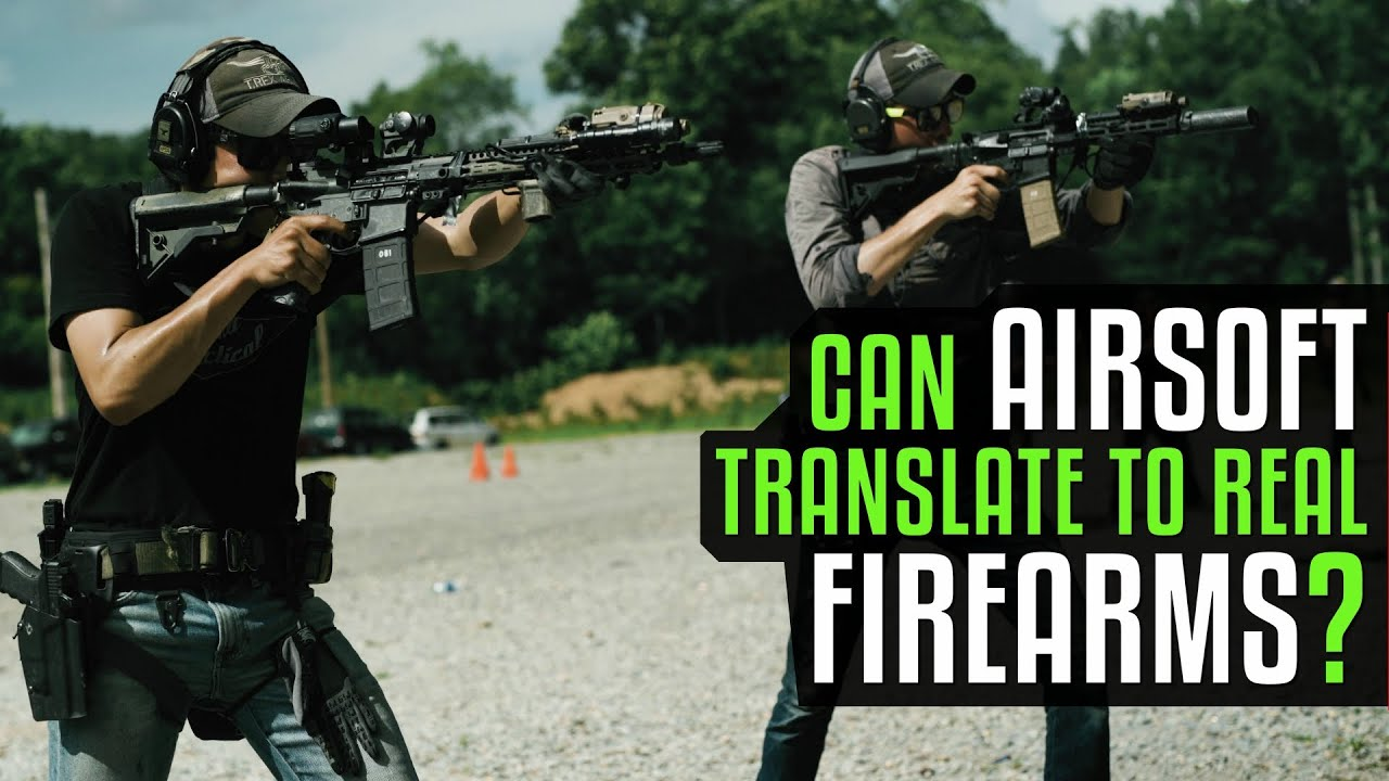 Can Airsoft Translate to Real Firearm Skill?