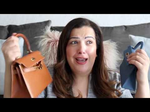 COMPARISON Hermes Kelly Mini 2 vs Vintage Hermes Kelly 20 cms !! |How She Spends It