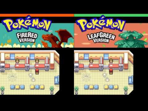 Pokemon Fire Red/Leaf Green - Get All Starter Pokemons Through Trade