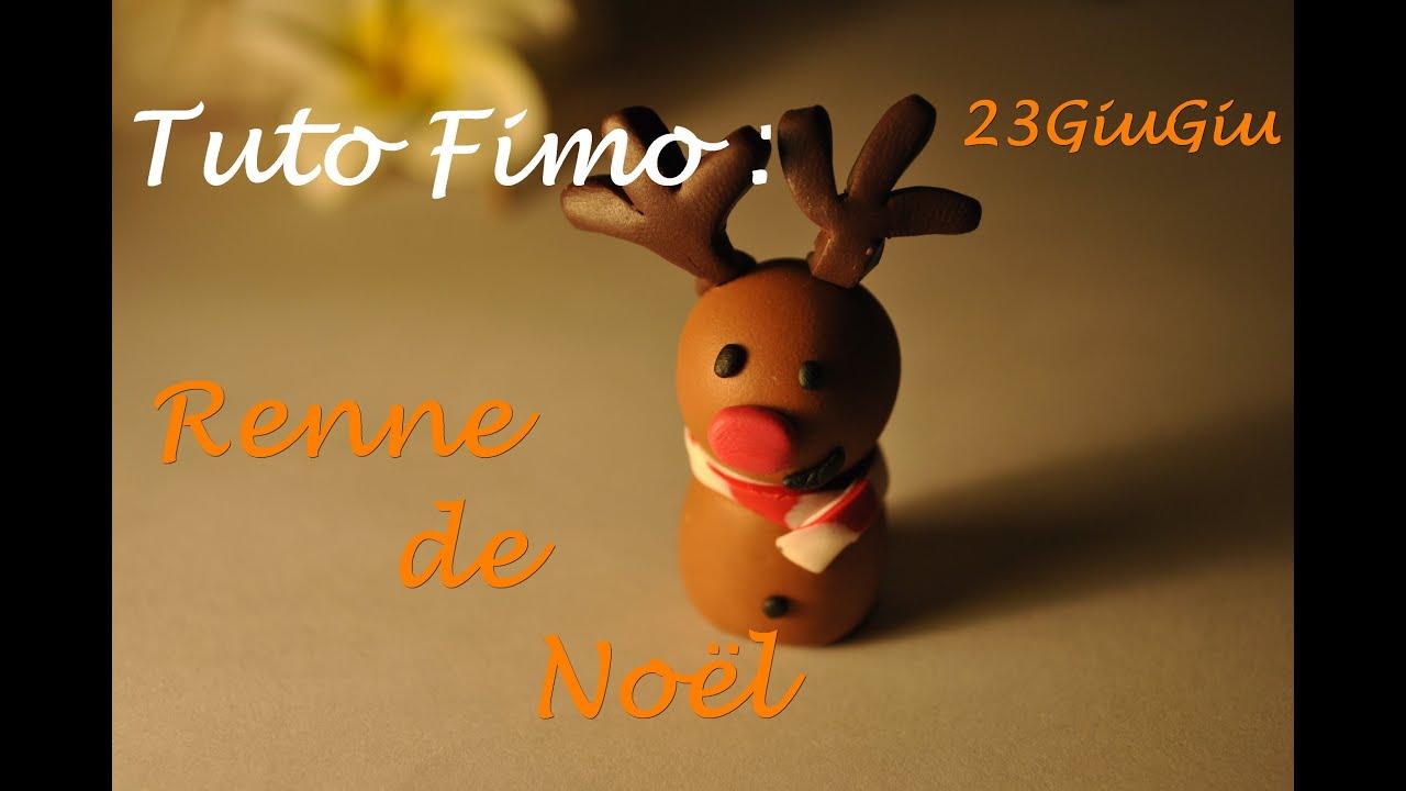 Tuto Fimo Noël Le Renne