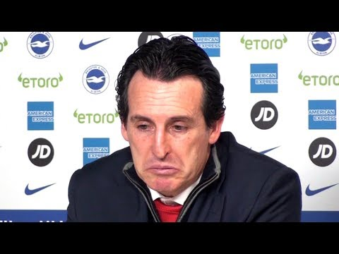 Brighton 1-1 Arsenal - Unai Emery Full Post Match Press Conference - Premier League