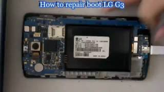 How to repair boot LG G3 - Solution for all kinds of brick | Medusa Box | xSolution
