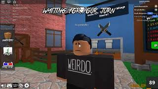 Roblox mm2 I m going to kill you